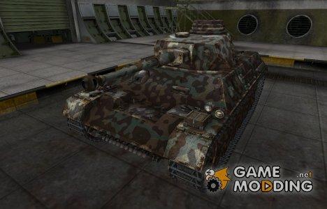 Горный камуфляж для PzKpfw III/IV для World of Tanks