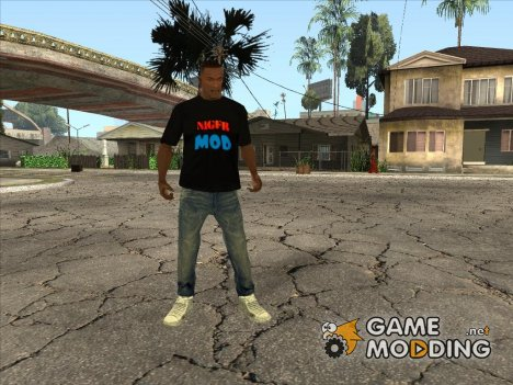 Футболка NIGER MOD for GTA San Andreas