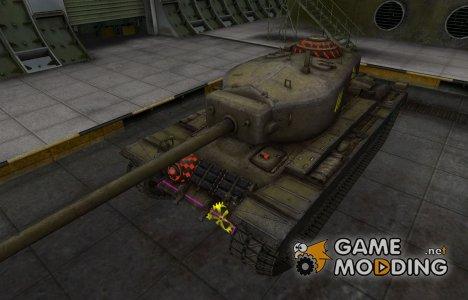 Контурные зоны пробития T30 для World of Tanks