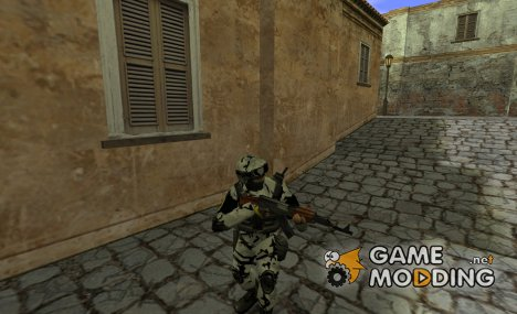 Banana special artic force для Counter-Strike 1.6