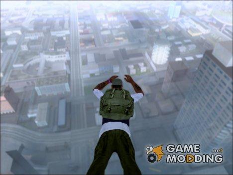 Тёмно - зелёный рюкзак бойца SAS из игры Hidden And Dangerous 2 for GTA San Andreas