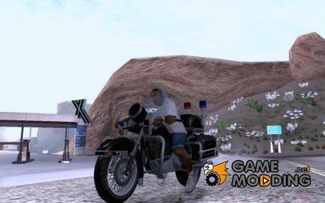 Полицейский мотоцикл из GTA TBoGT for GTA San Andreas