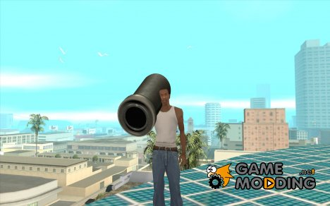 Пушка из Serious Sam for GTA San Andreas