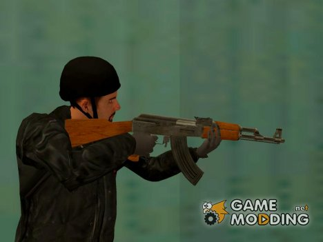 АК47 Grand Theft Auto 4 for GTA San Andreas