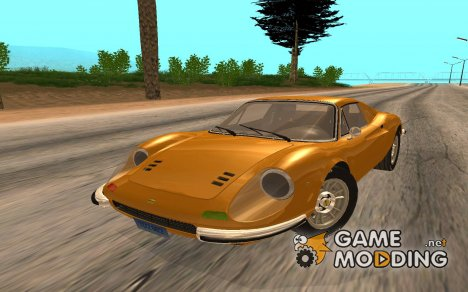 Ferrari Dino 246 GTS Coupe for GTA San Andreas