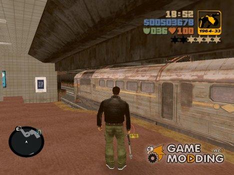 Поезд из S.T.A.L.K.E.R.: Зов Припяти для GTA 3