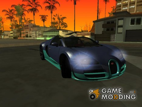 Bugatti Veyron Grand Sport Vitesse for GTA San Andreas