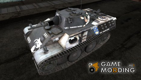 Аниме шкурка для VK1602 Leopard для World of Tanks
