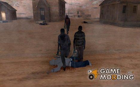 Las Brujas, Проклятоя земля для GTA San Andreas