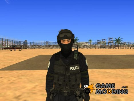 SWAT HD for GTA San Andreas