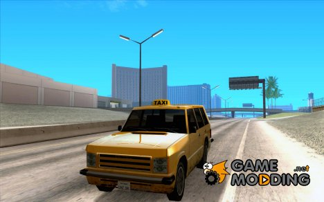 Хантли под такси for GTA San Andreas
