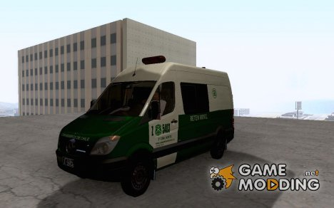 Mercedes Benz Sprinter Senda Carabineros De Chile for GTA San Andreas