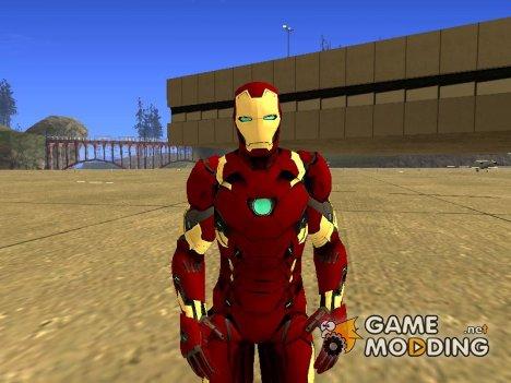 Железный человек mark 46 Противостояние v2 for GTA San Andreas