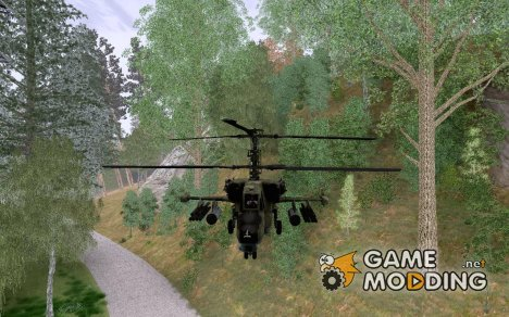Kamov Ka-50 Black Shark для GTA San Andreas