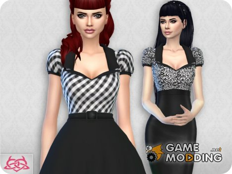 Matilde blouse RECOLOR 2 для Sims 4
