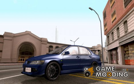 Mitsubishi Lancer Evolution VIII MR Edition для GTA San Andreas
