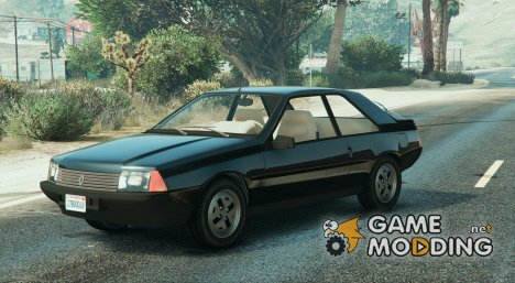 1980 Renault Fuego Tunable 0.5 for GTA 5