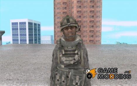 Скин солдата из CODMW 2 для GTA San Andreas