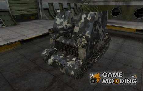 Немецкий танк Sturmpanzer I Bison для World of Tanks