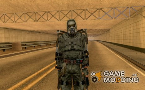 Новичок в экзоскелете для GTA San Andreas