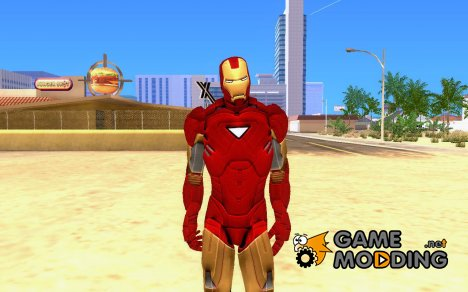 Iron man MarkVI для GTA San Andreas