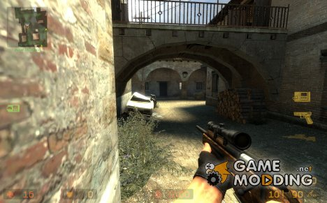 Scout - Wooden stock for Counter-Strike Source