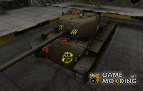 Контурные зоны пробития T20 для World of Tanks