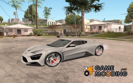 Zenvo ST1 v1.2 final HD для GTA San Andreas