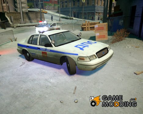 Ford Crown Victoria Полиция ДПС for GTA 4