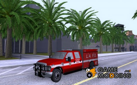 Ford F-350 Super Duty LAFD для GTA San Andreas