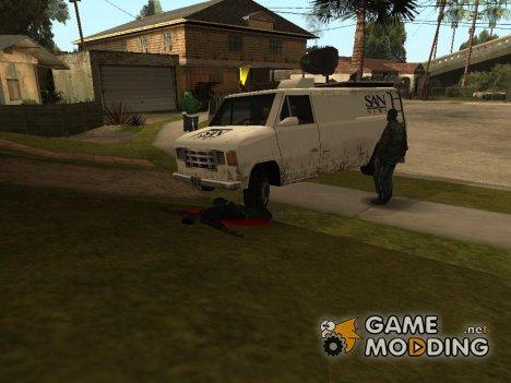Newsvan mod или возможность из бета версии игры for GTA San Andreas