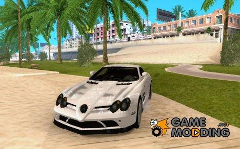 Mercedes-Benz SLR McLaren 722 Black Revel для GTA San Andreas