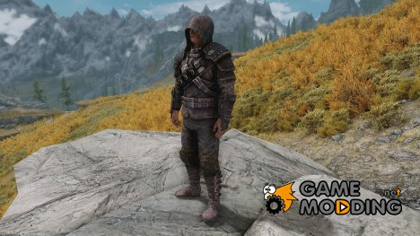 Unenchanted Thieves Armour Set для TES V Skyrim