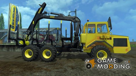Volvo BM Forwarder v1.0 для Farming Simulator 2015