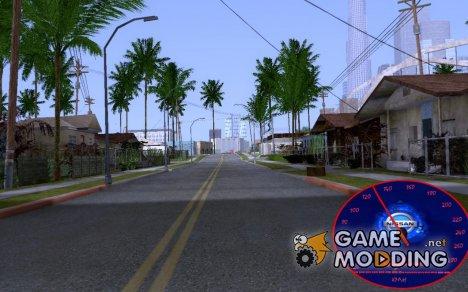 Спидометр Nissan Skyline for GTA San Andreas