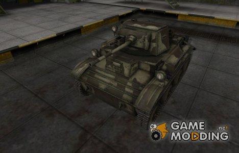 Пустынный скин для MkVII Tetrarch for World of Tanks