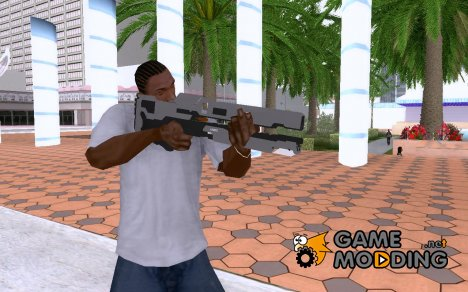 Halo 4 Railgun (Asymmetric Recoilless Carbine-920) для GTA San Andreas