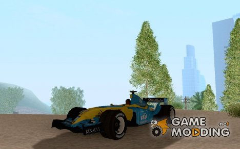 Renault R26 F1 for GTA San Andreas