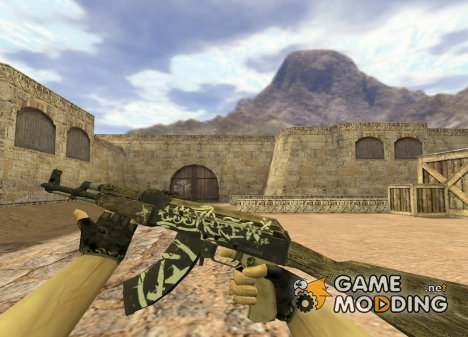 AK-47 Wasteland Rebel для Counter-Strike 1.6