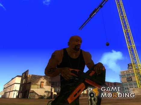 Sawed-off shotgun (Max Payne 3) for GTA San Andreas