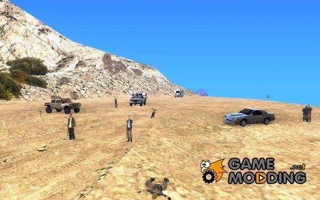 Сохранение для базы на Чиллиад for GTA San Andreas