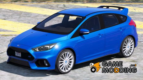2016-2017 Ford Focus RS 1.0 for GTA 5