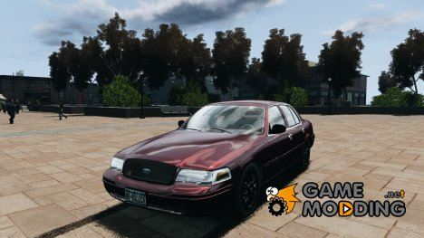 Ford Crown Victoria 2003 v.2 Civil для GTA 4