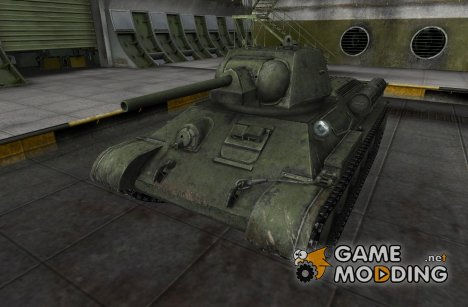 Шкурка для Type T-34 для World of Tanks