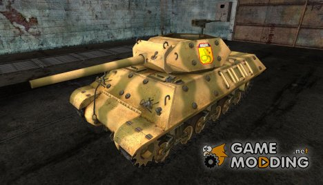Шкурка для M10 Wolverine Brazil for World of Tanks