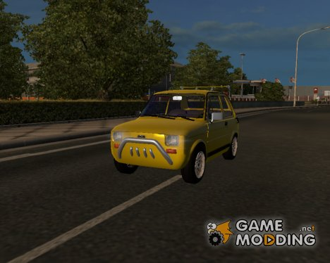 Fiat 126 for Euro Truck Simulator 2