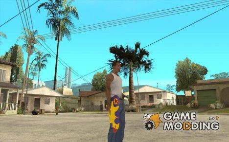 Водяной пистолет for GTA San Andreas
