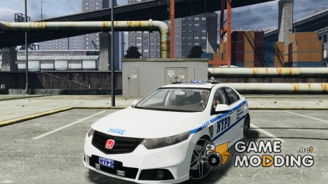 Honda Accord Type R NYPD (City Patrol 7605) for GTA 4