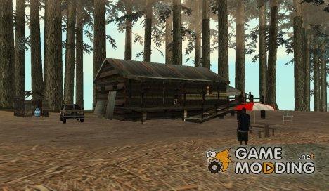 Сохранение на горе Чилиад v.2 for GTA San Andreas