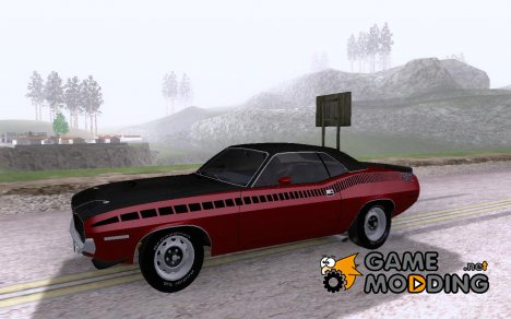 Plymouth 'Cuda AAR 340 '70 for GTA San Andreas
